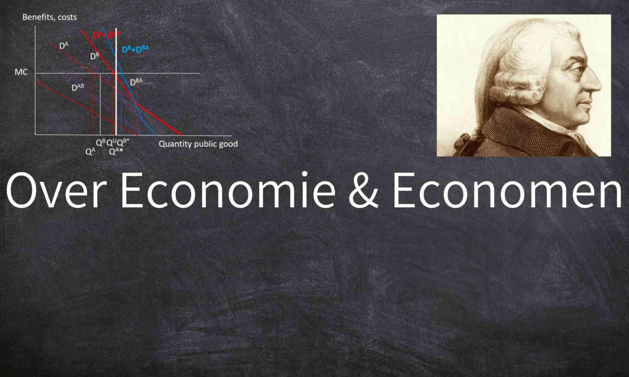 Over Economie & Economen
